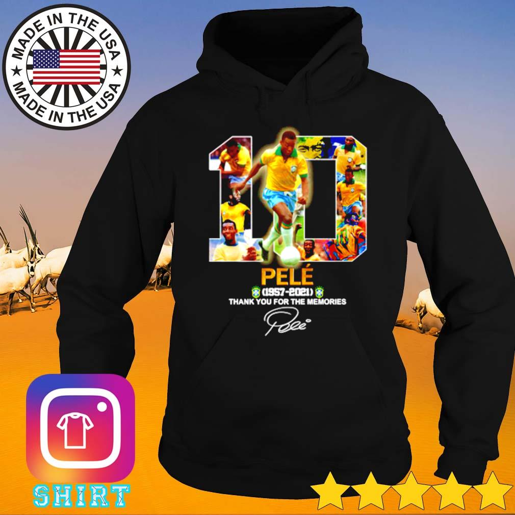 10 Pelé 1957-2021 thank you for the memories s Hoodie