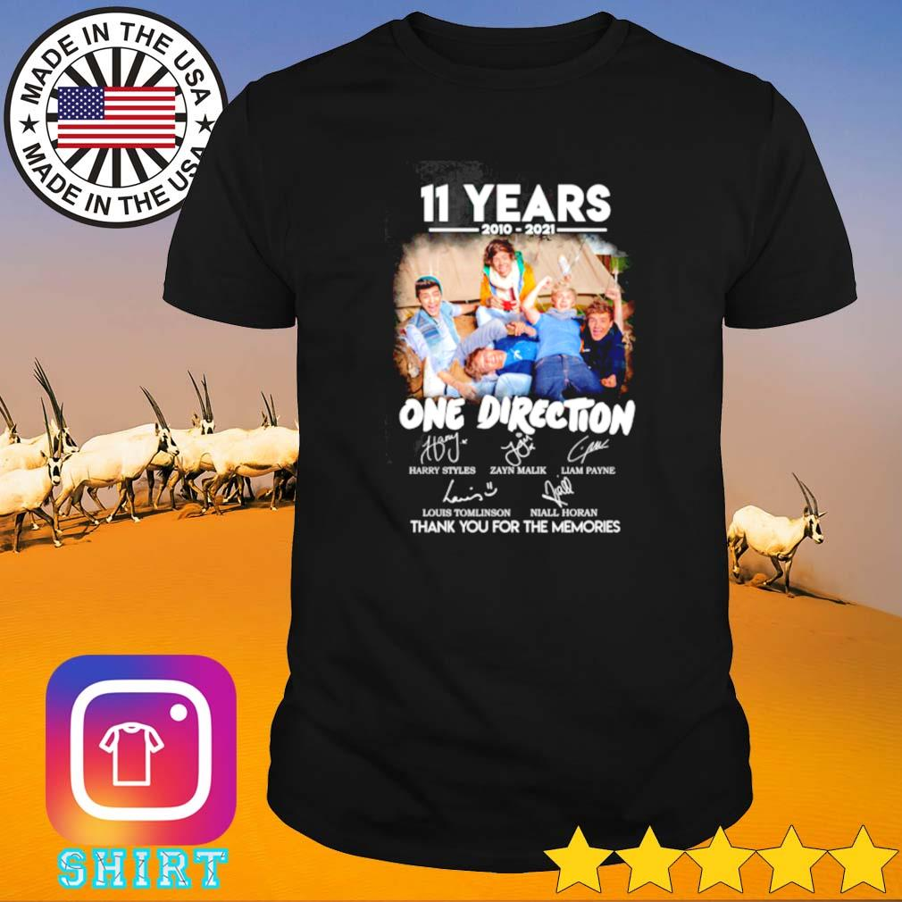11 Years of 2010-2021 One direction shirt