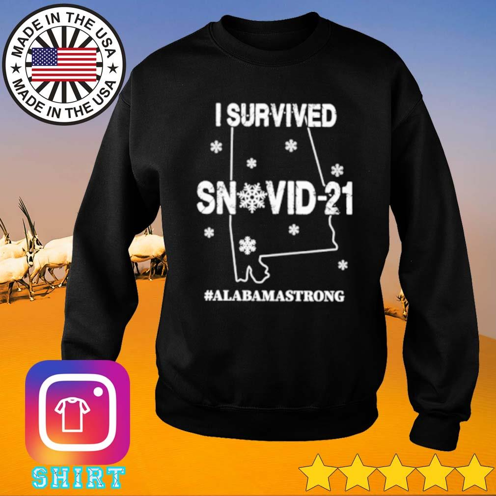 I survived snovid-21 Alabama strong s Sweater