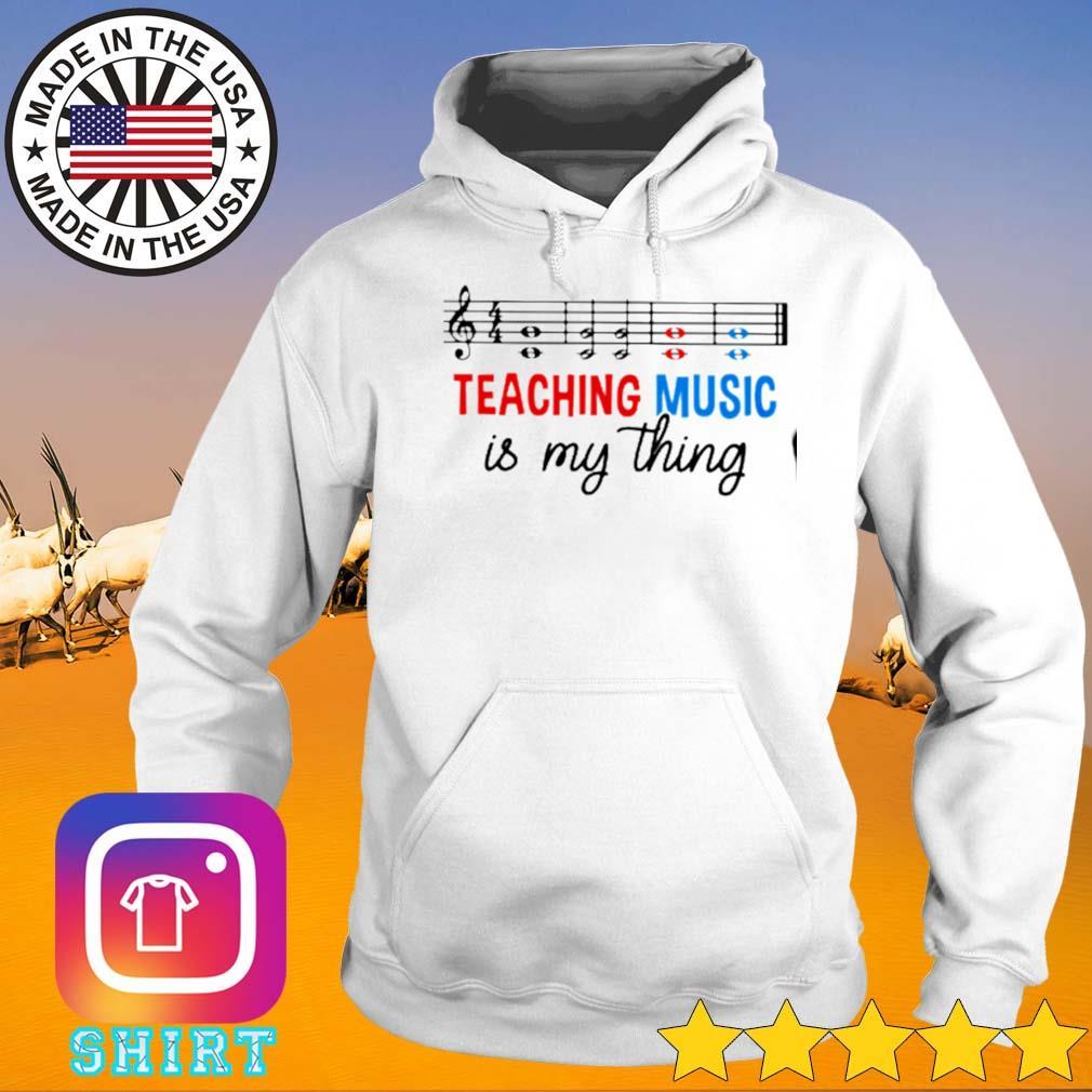 Love music teaching is my thing s Hoodie