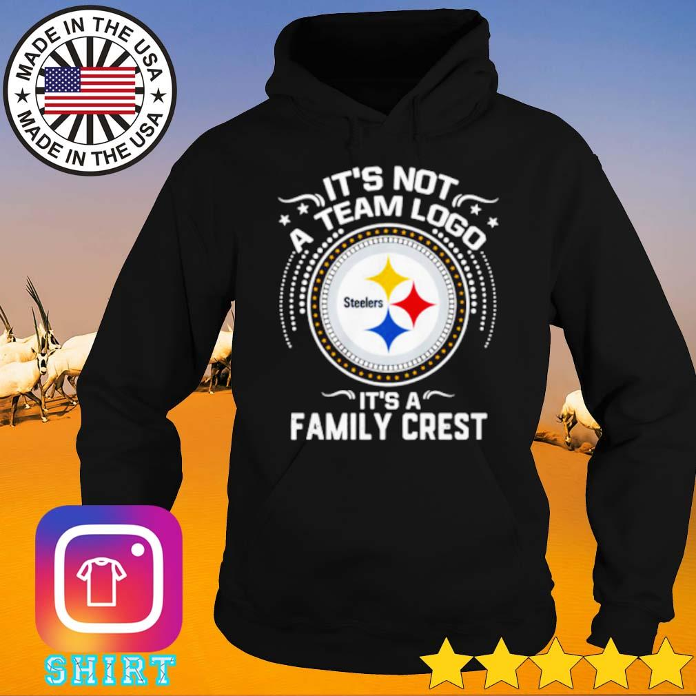 Pittsburgh Steelers it's not a team logo it's a family crest s Hoodie