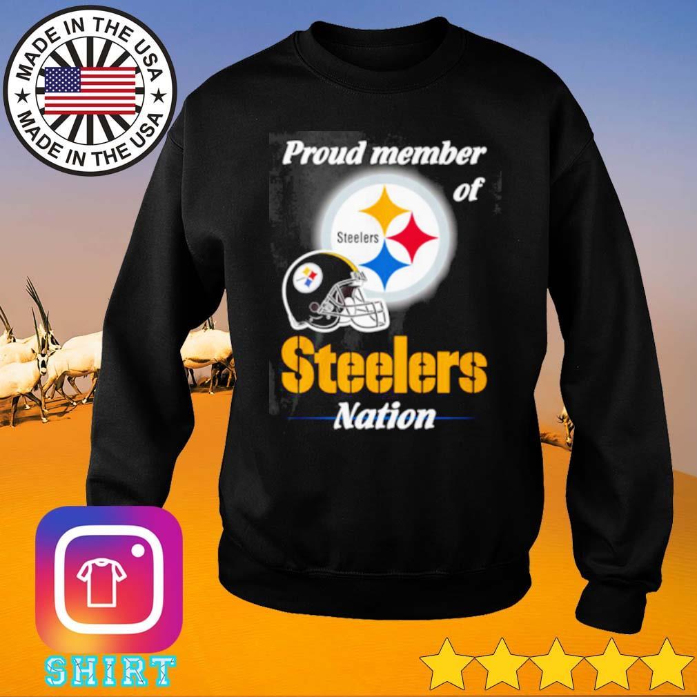 Pittsburgh Steelers proud member of Steelers nation s Sweater