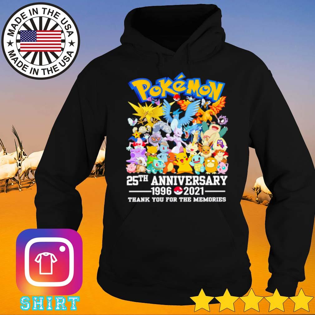 Pokemon 25th anniversary 1996-2021 s Hoodie