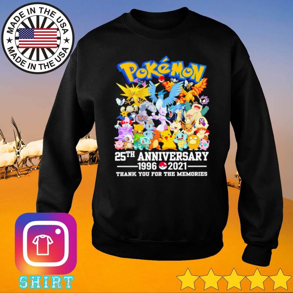Pokemon 25th anniversary 1996-2021 s Sweater