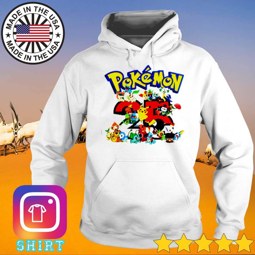 Pokemon cartoon 25th anniversary s Hoodie