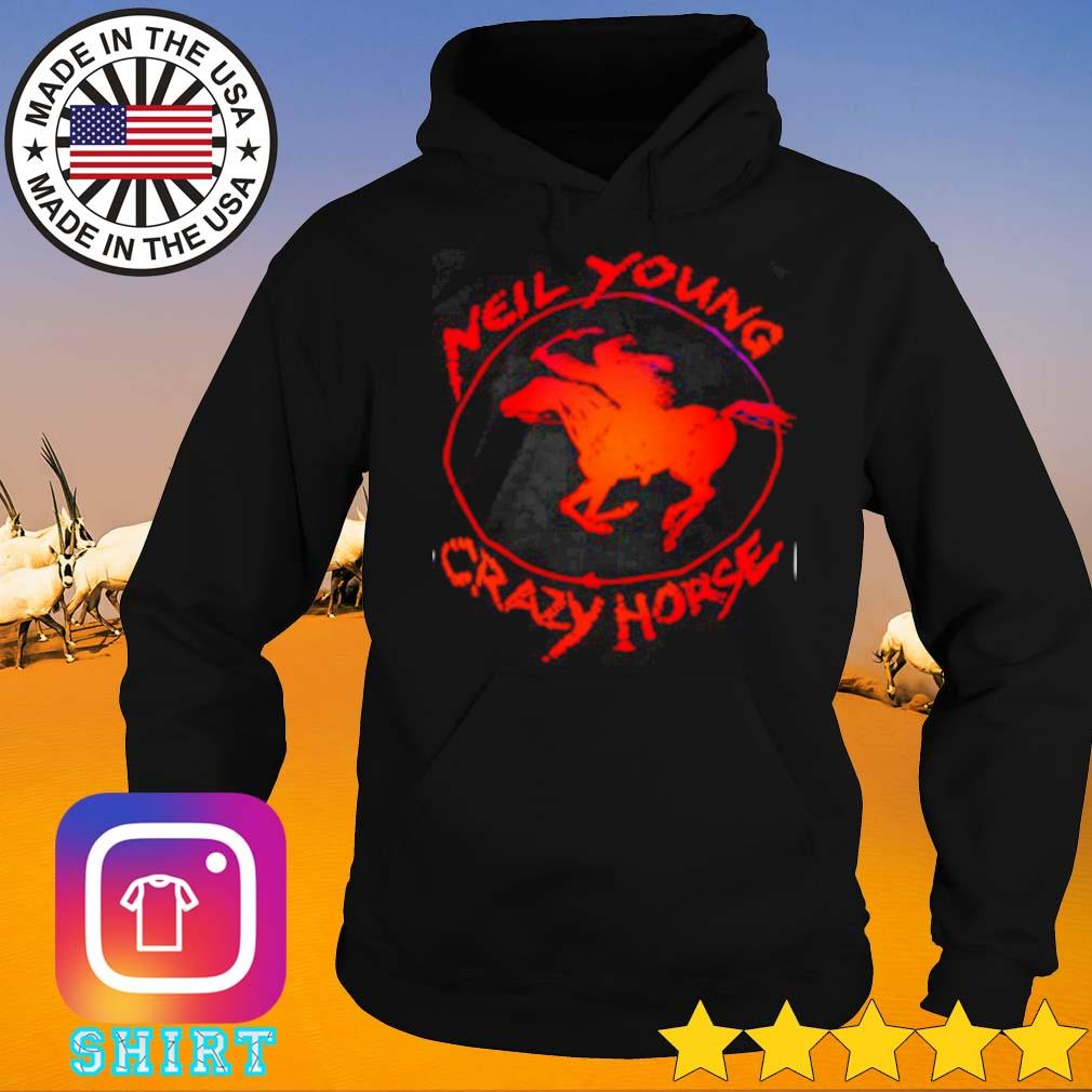 Riding horse new young crazy horse s Hoodie