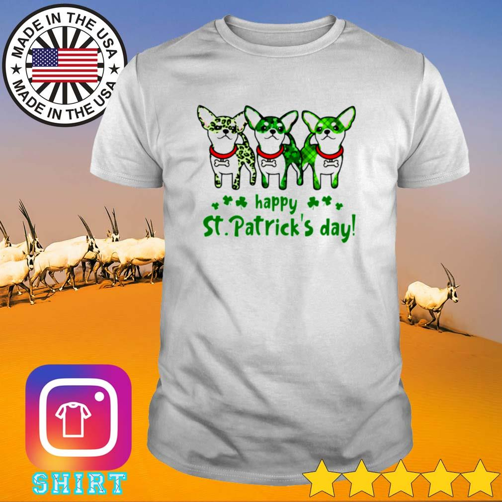 St Patrick's day Chihuahua happy shirt