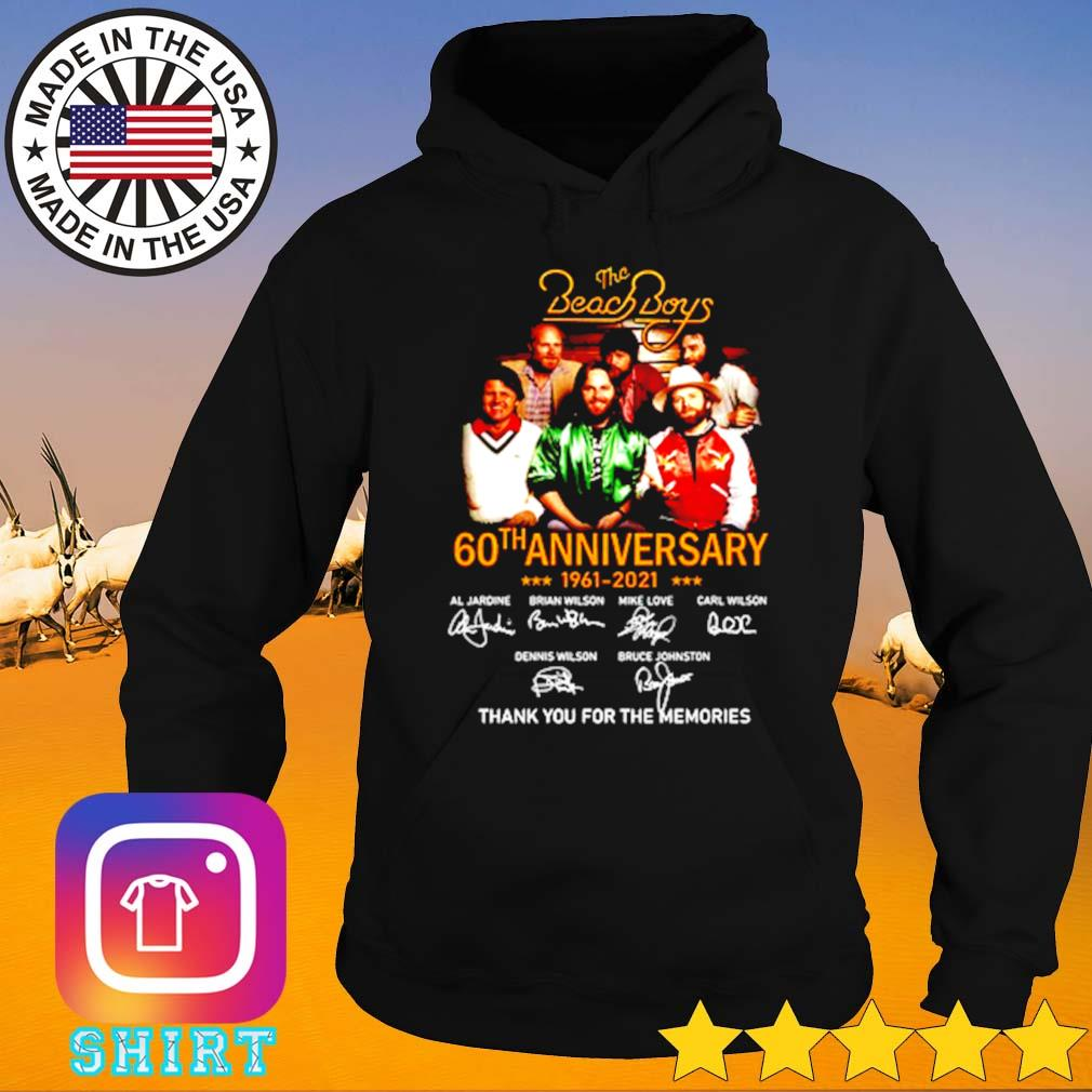 The Beach Boys 60th anniversary 1961-2021 thank you for the memories s Hoodie