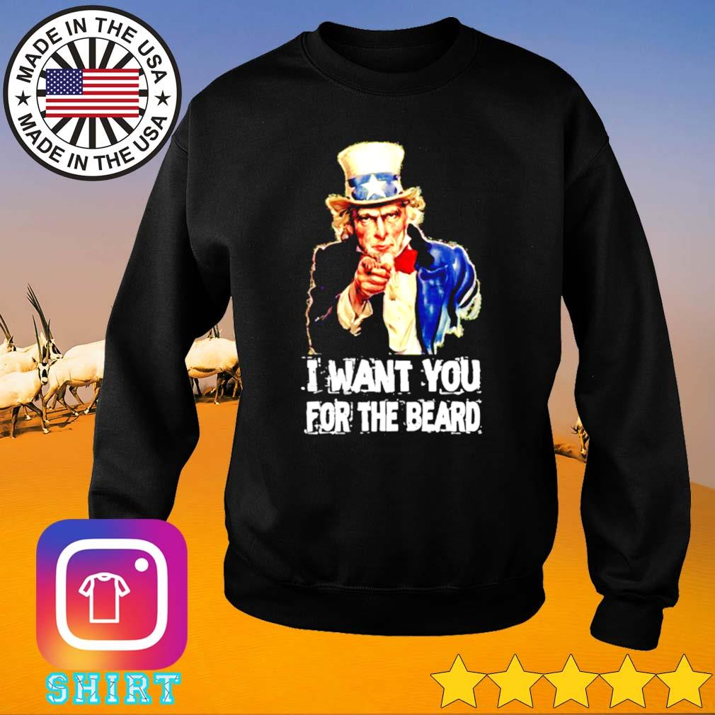 I want you for the beard Uncle Sam Sweater