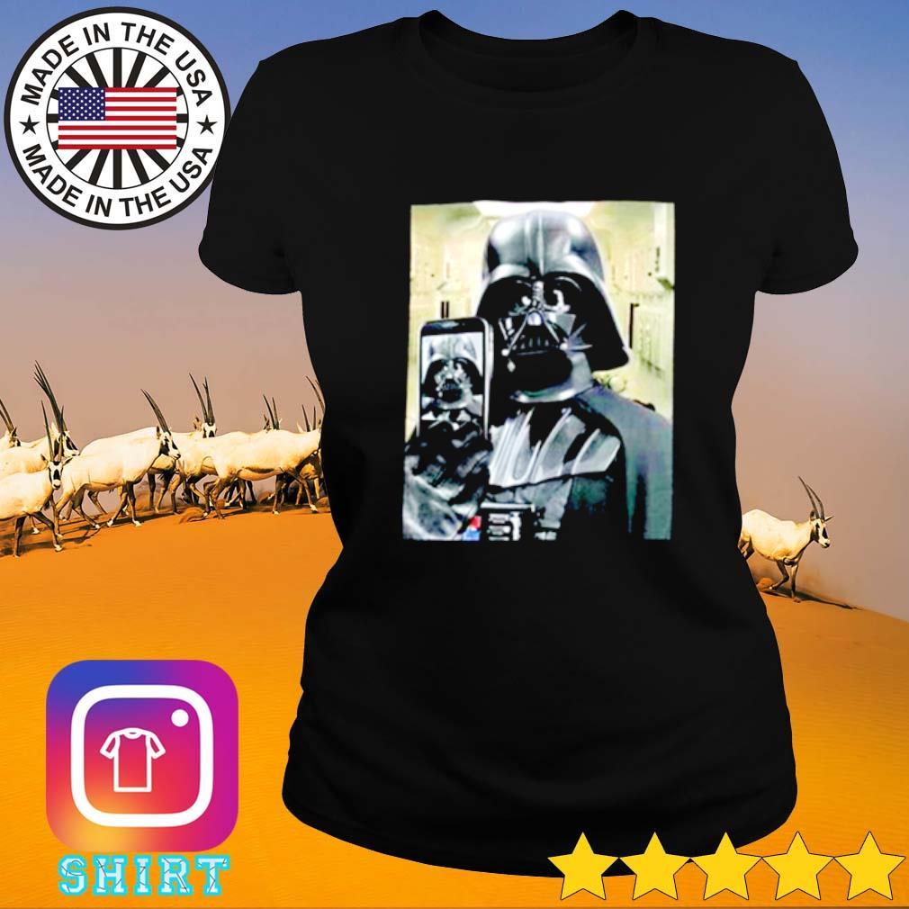 Darth Vader Selfie Ladies tee