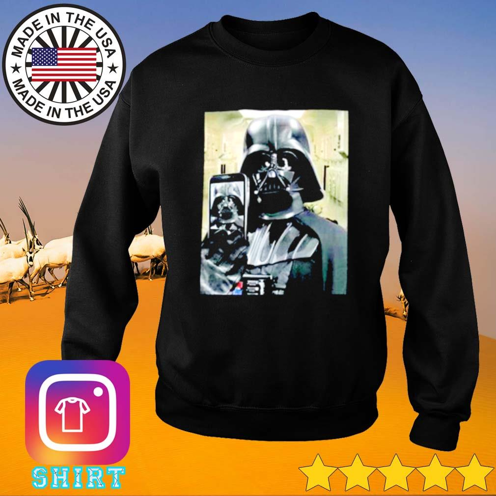 Darth Vader Selfie Sweater