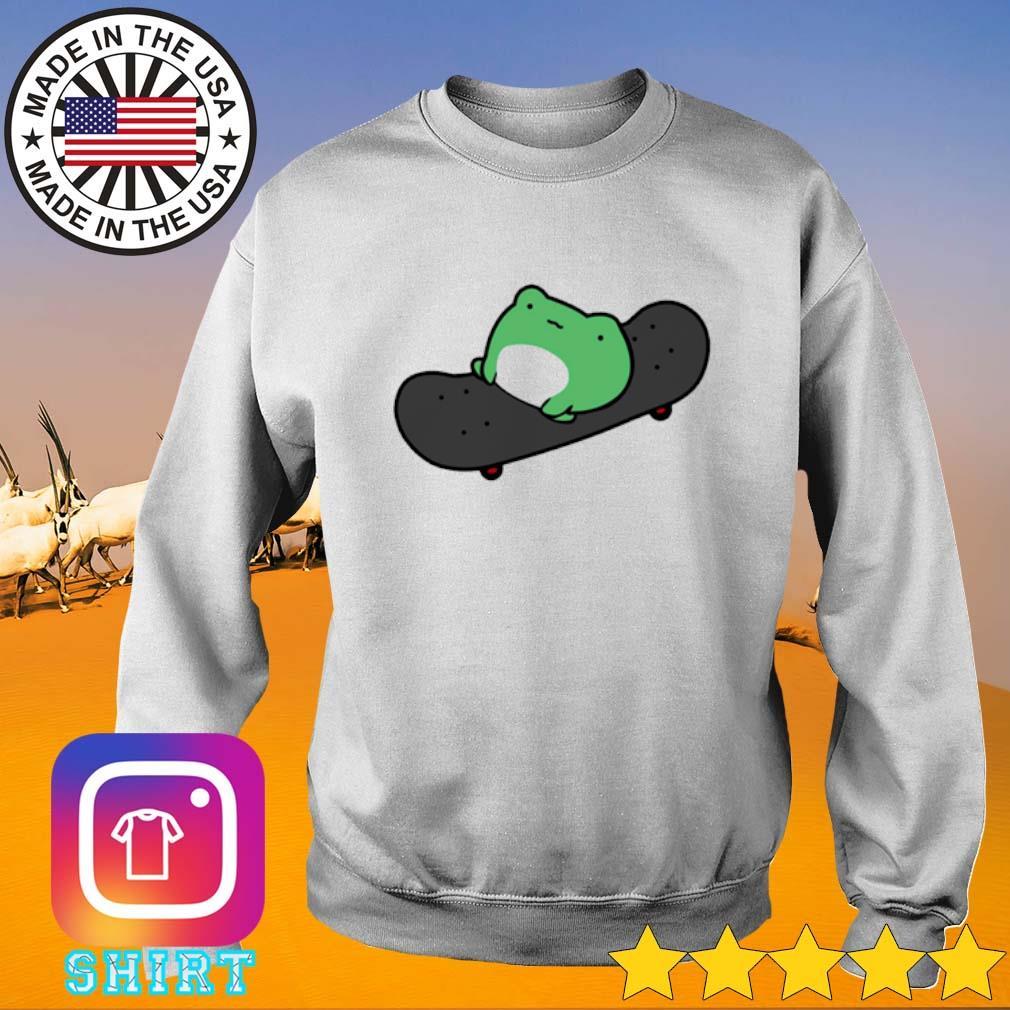 Frog Skateboard Sweater