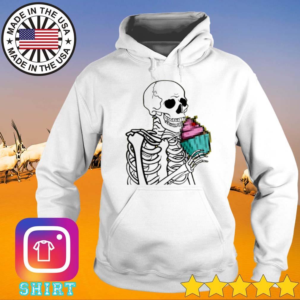 Skeleton cupcake Hoodie