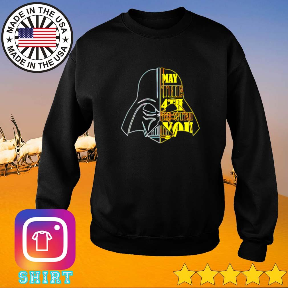 Star Wars Darth Vader head may the 4th be with you Sweater