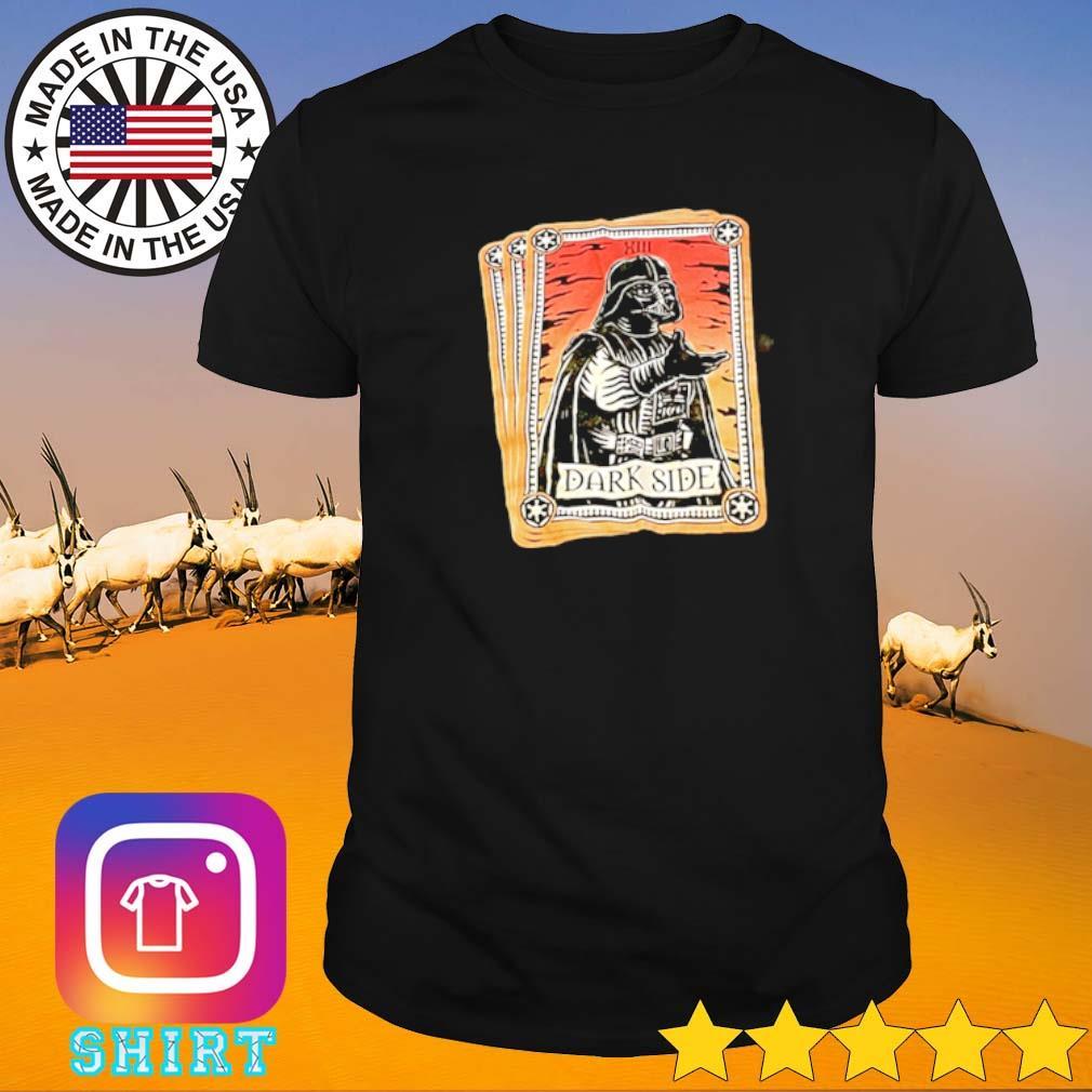 Star Wars Darth Vader Tarot dark side shirt