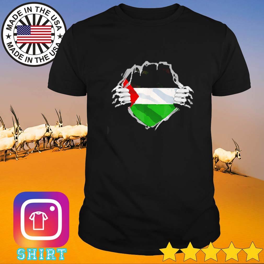 Super Palestinian Heritage Proud Palestine Flag shirt