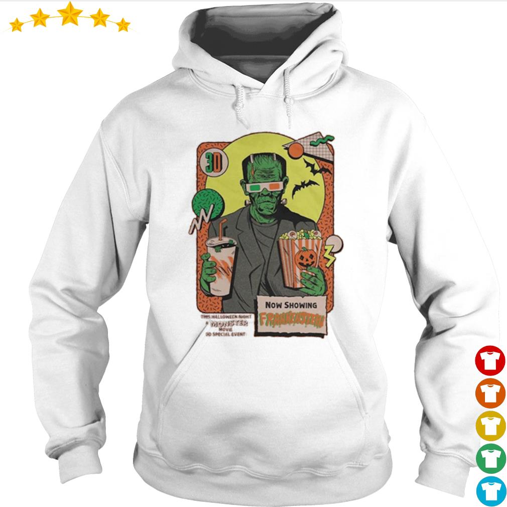 Now shopping Frankenstein this Halloween night moster movie s Hoodie