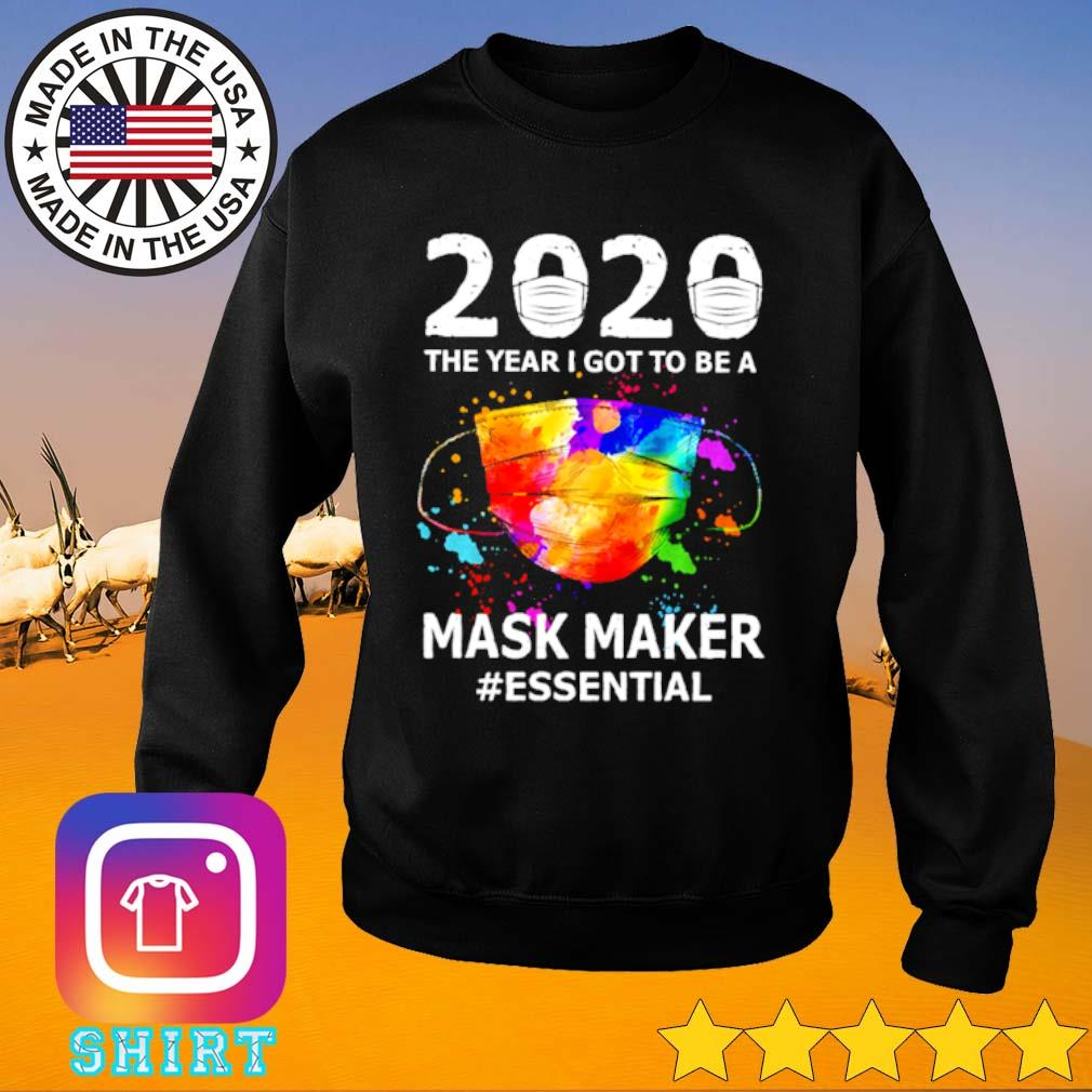 2020 The year I got to be a mask maker #essential s Sweater black