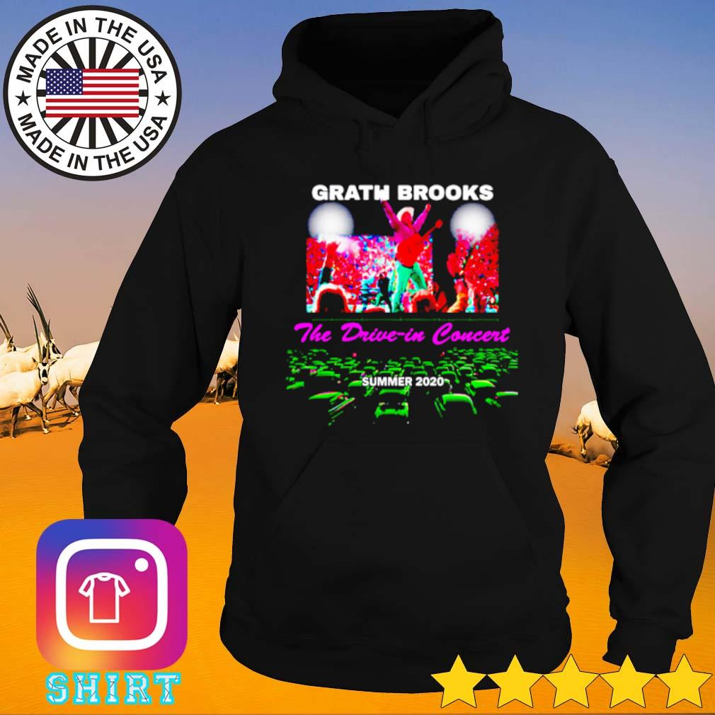 Garth Brooks the drive in concert summer 2020 s Hoodie black