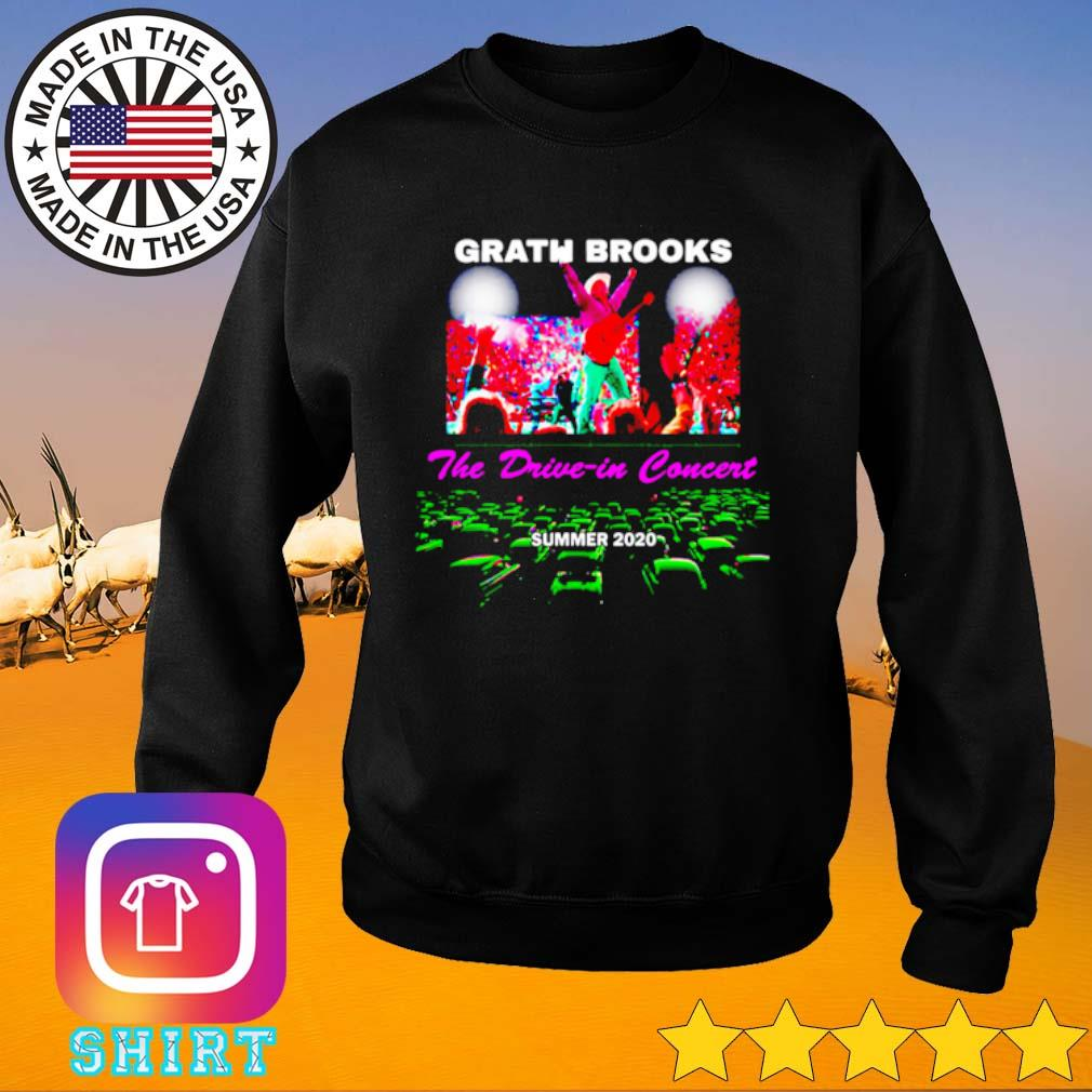 Garth Brooks the drive in concert summer 2020 s Sweater black