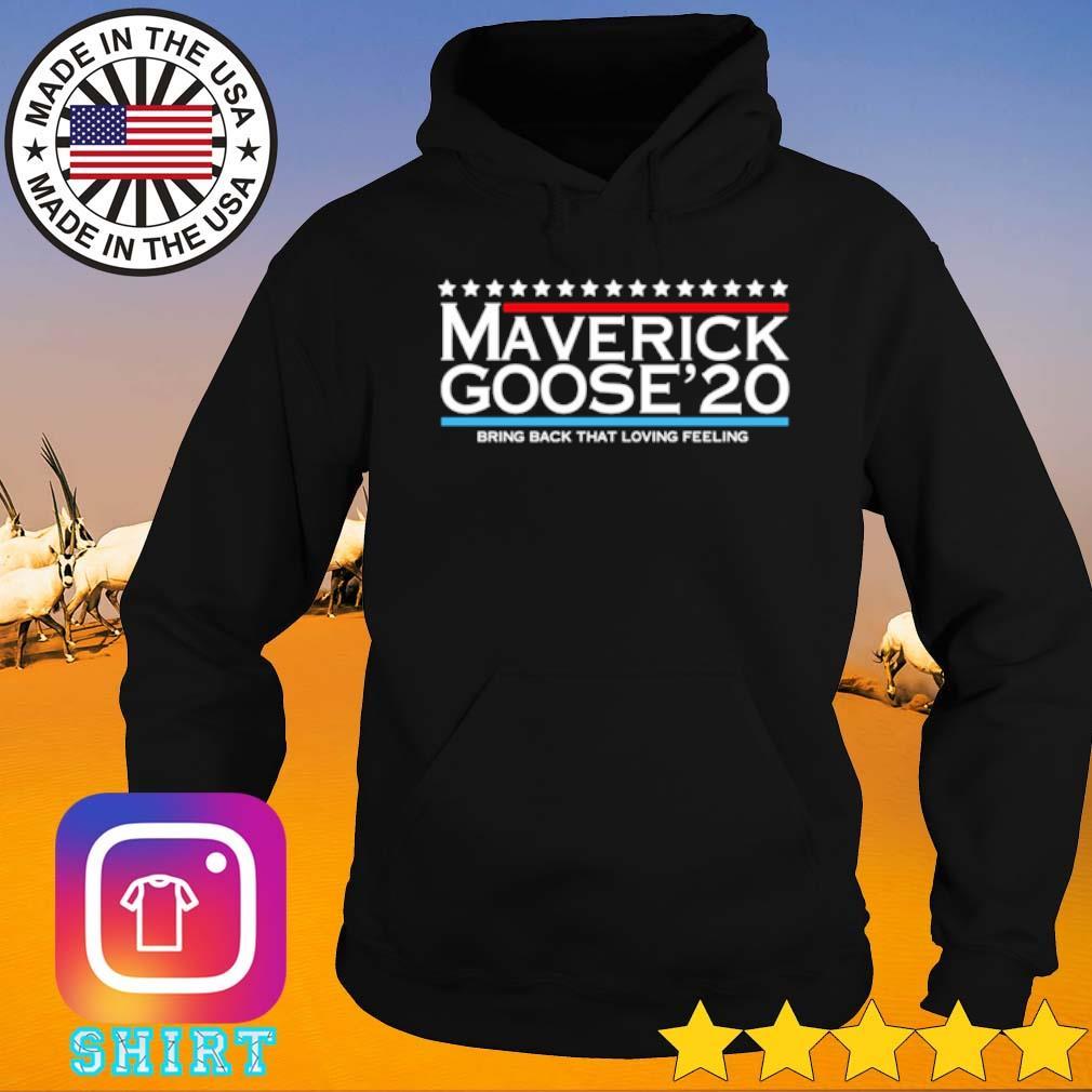 Maverick Goose 2020 bring back that loving feeling s Hoodie black