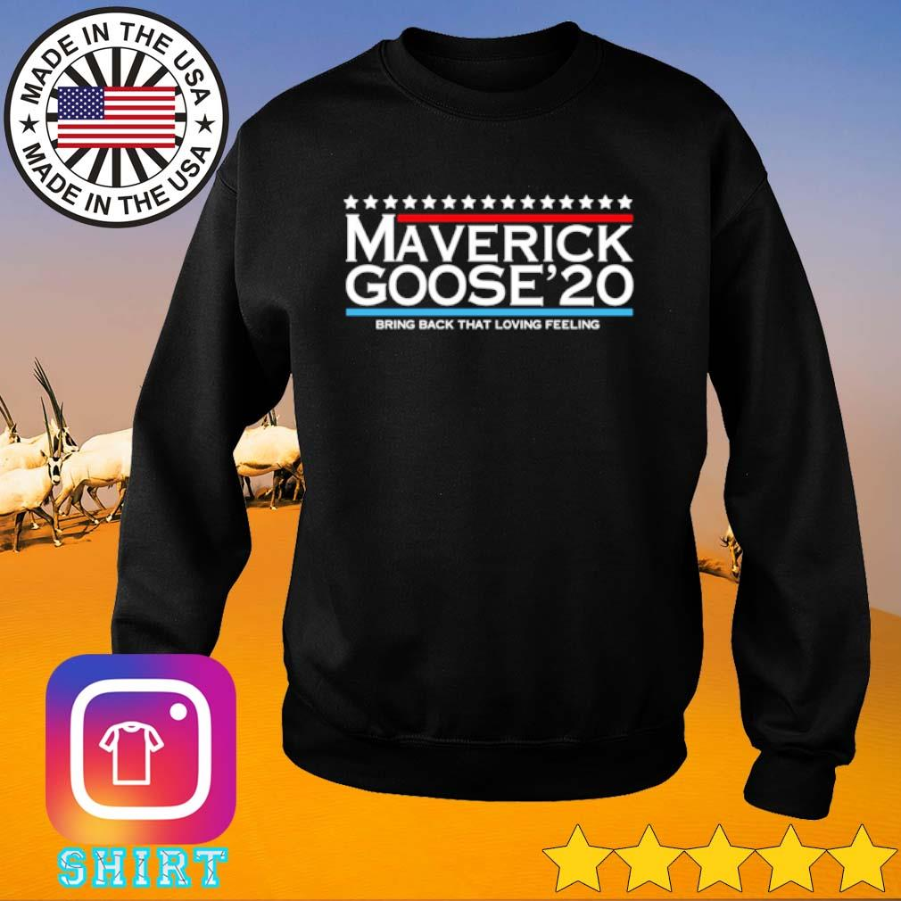 Maverick Goose 2020 bring back that loving feeling s Sweater black