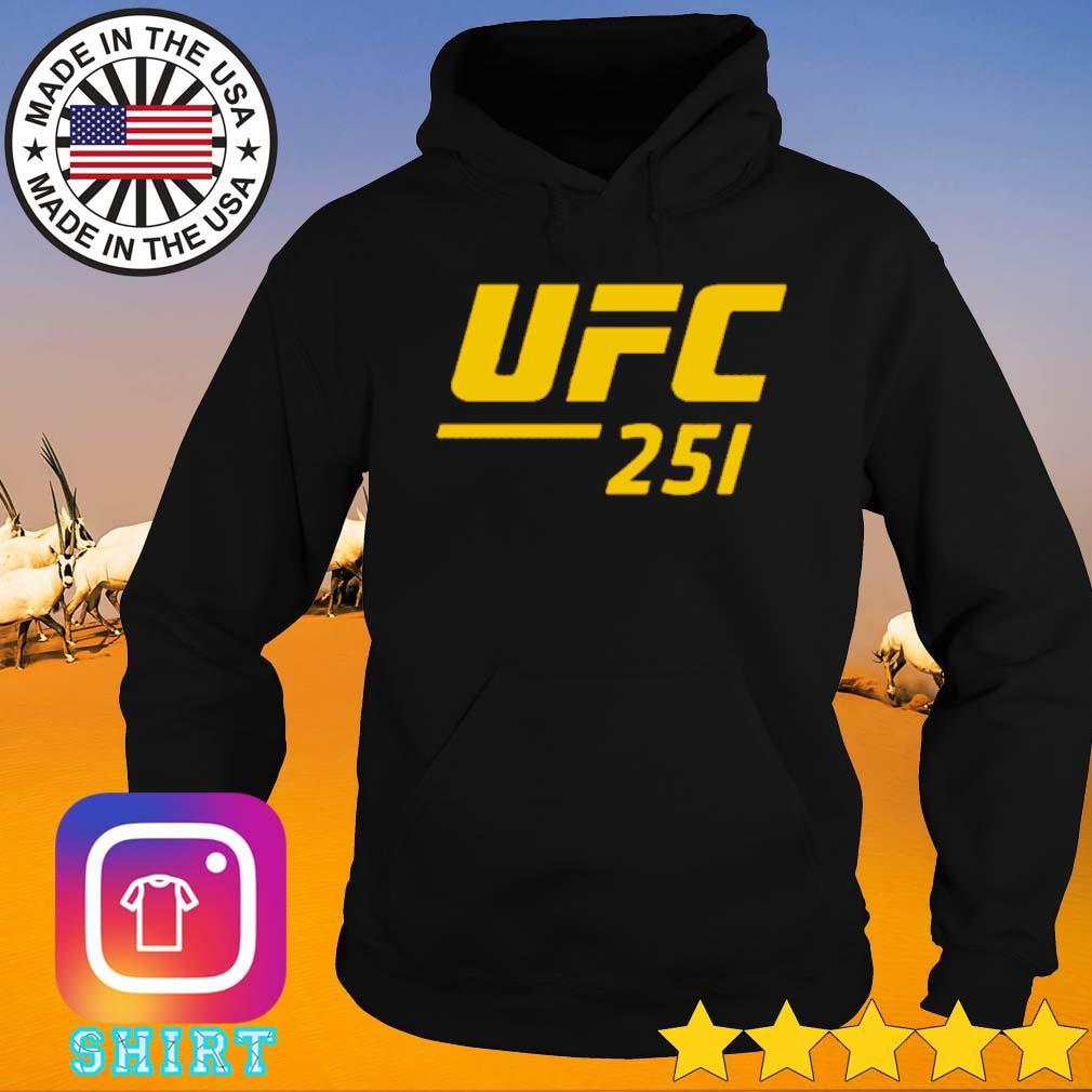 UFC 251 Ultimate Fighting Championship s Hoodie black