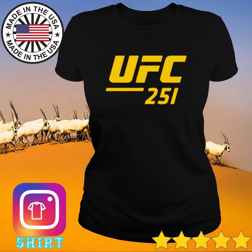 UFC 251 Ultimate Fighting Championship s Ladies Tee black