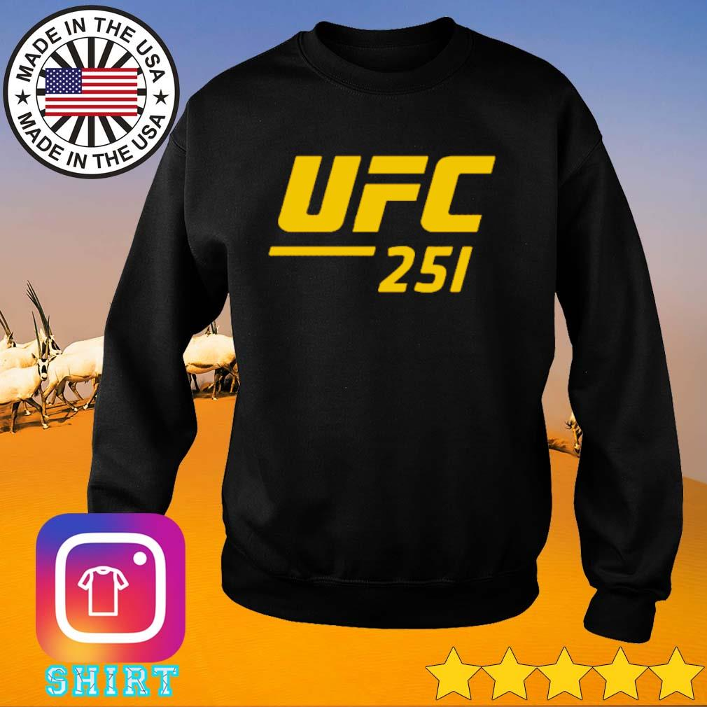 UFC 251 Ultimate Fighting Championship s Sweater black