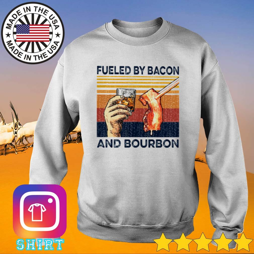 Vintage fueled by bacon and bourbon s Sweater White