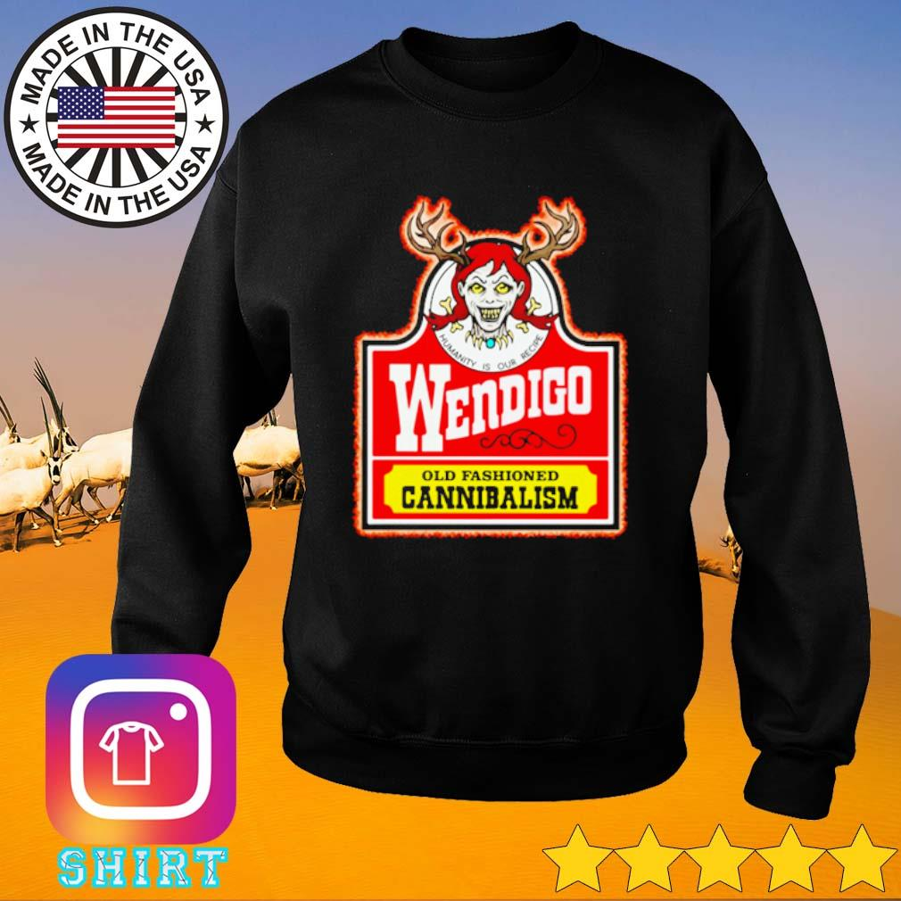 Wendigo old fashioned Cannibalism s Sweater black