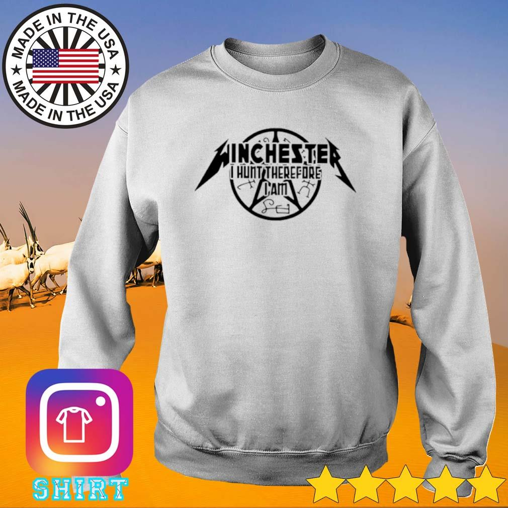 Winchester I hunt therefore I am s Sweater White