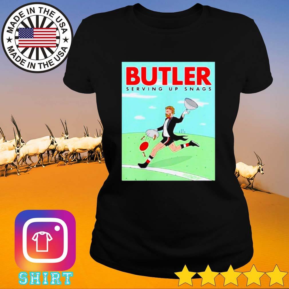 Butler Serving up snags s Ladies Tee black