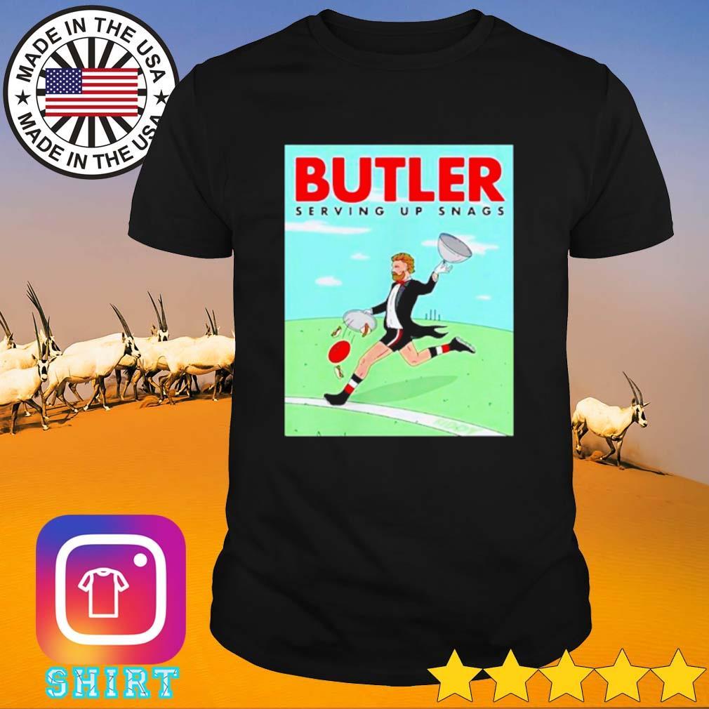 Butler Serving up snags shirt