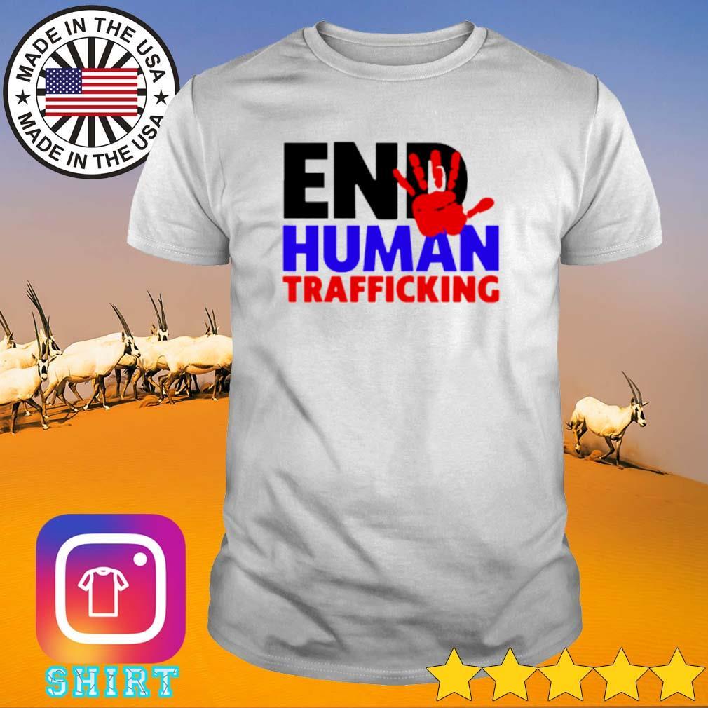 End Human Trafficking shirt