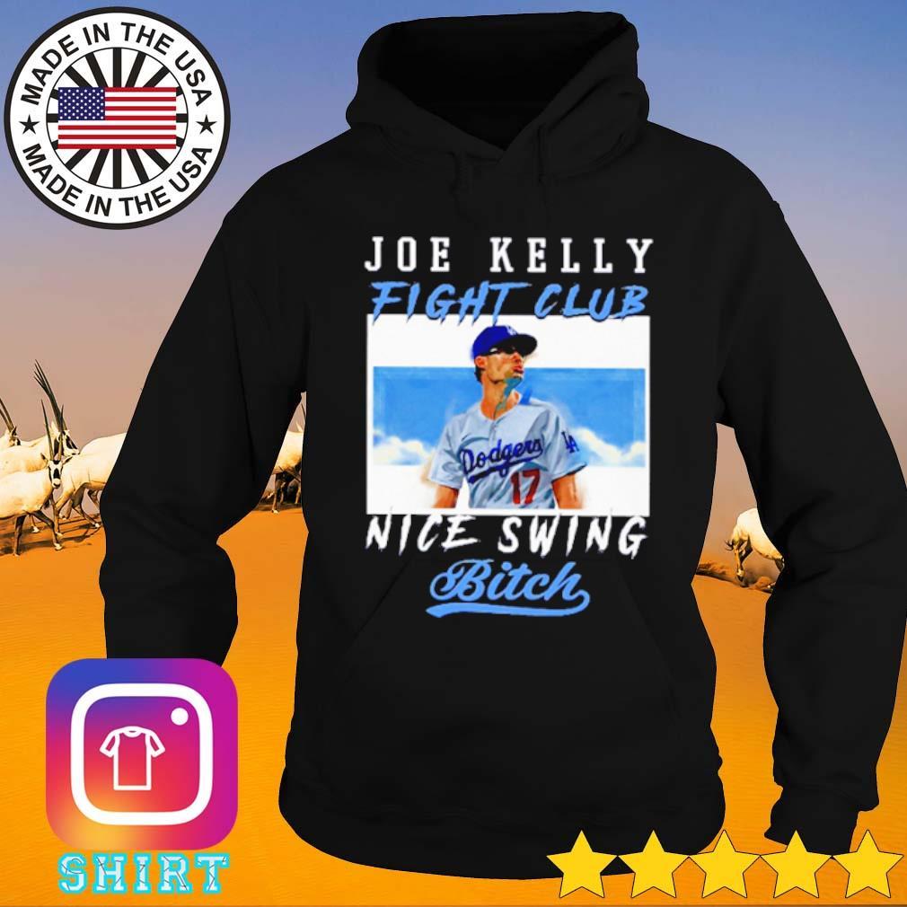 Joe Kelly Fight Club Nice Swing Bitch s Hoodie black