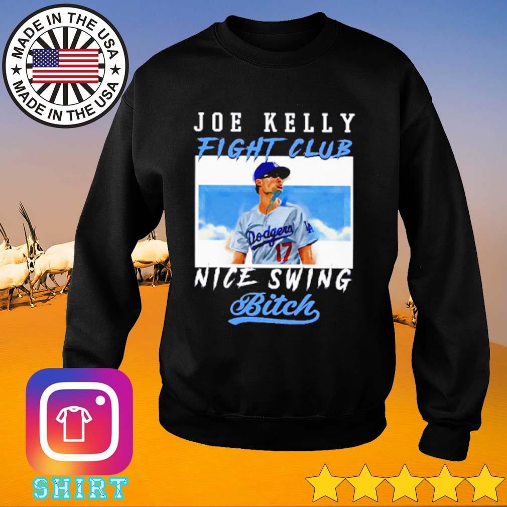 Joe Kelly Fight Club Nice Swing Bitch s Sweater black
