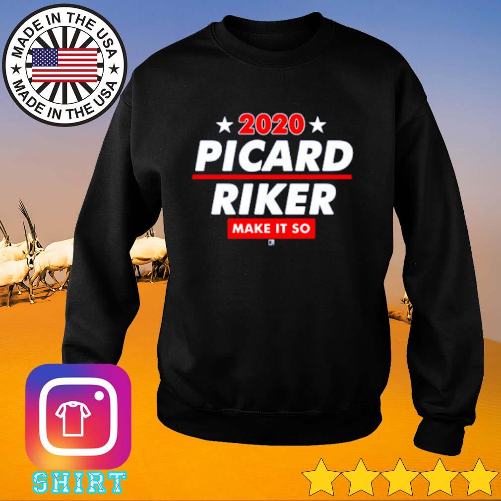 2020 Picard Riker make it so s Sweater black
