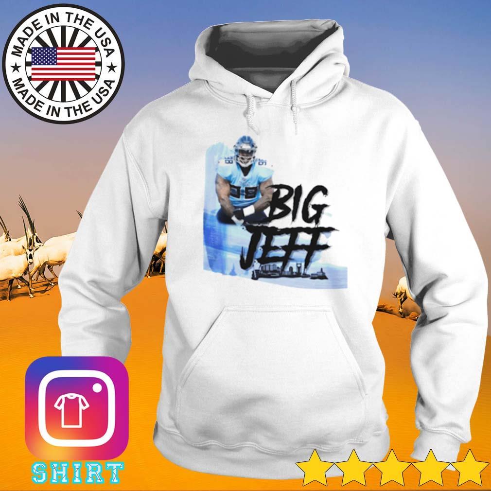 Big Jeff Tee Jeffery Simmons Tennessee Titans s Hoodie White