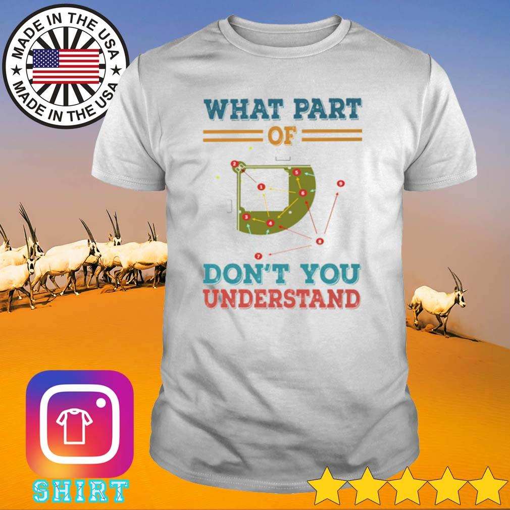 Board game What part of don't you understand vintage shirt