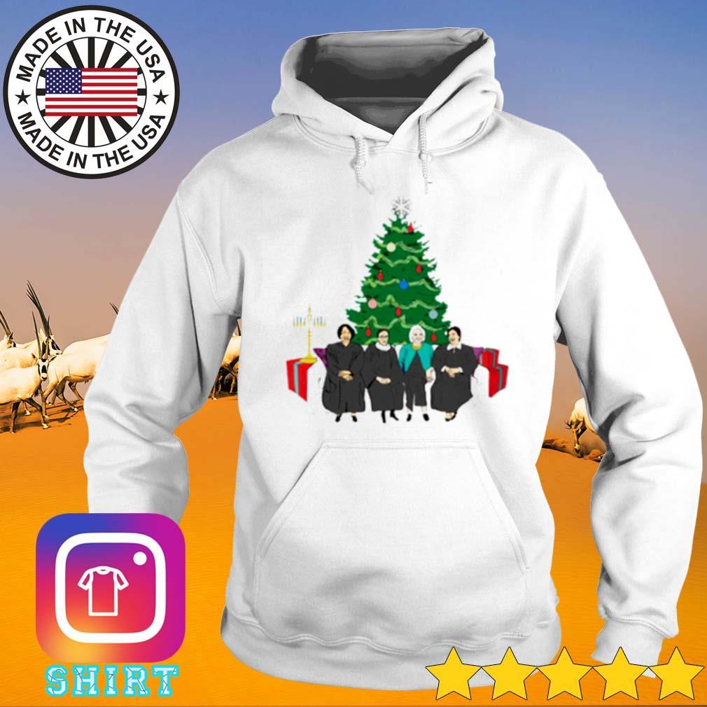 Elena Sandra Ruth Sonia The Supremes Christmas Tree s Hoodie White