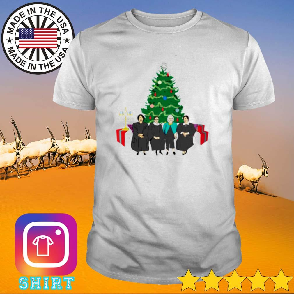 Elena Sandra Ruth Sonia The Supremes Christmas Tree shirt