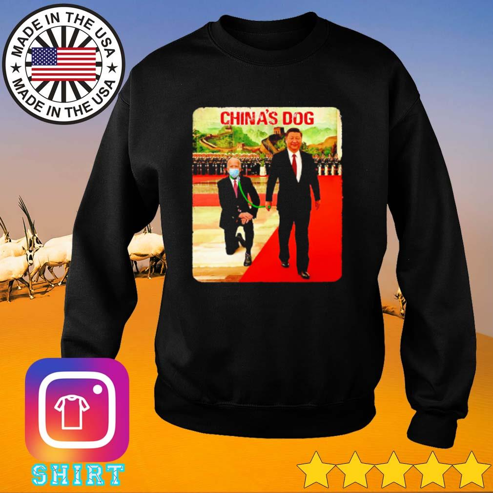Joe Biden China's Dog s Sweater black