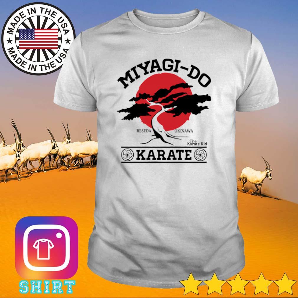 Miyagi-Do Reseda Okinawa The Karate Kid Karate shirt