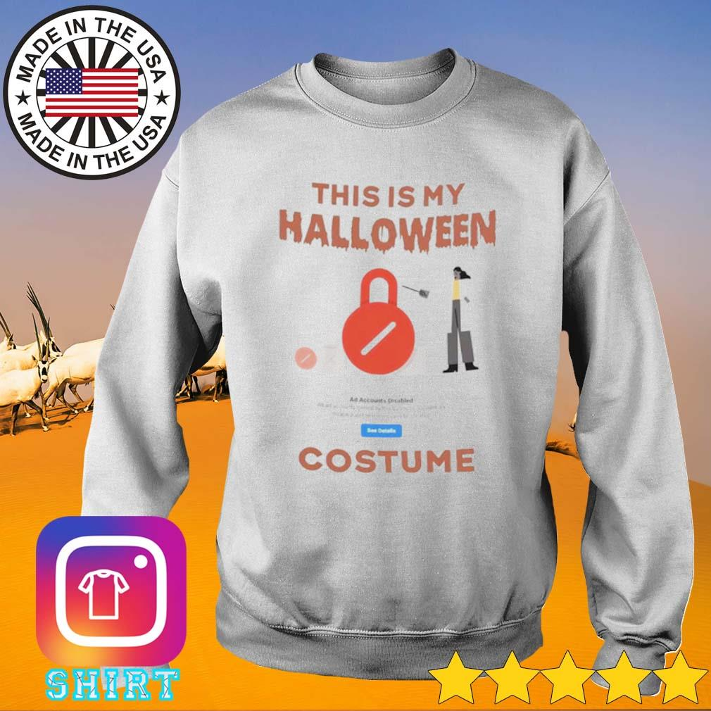 This is my Halloween Costume s Sweater White
