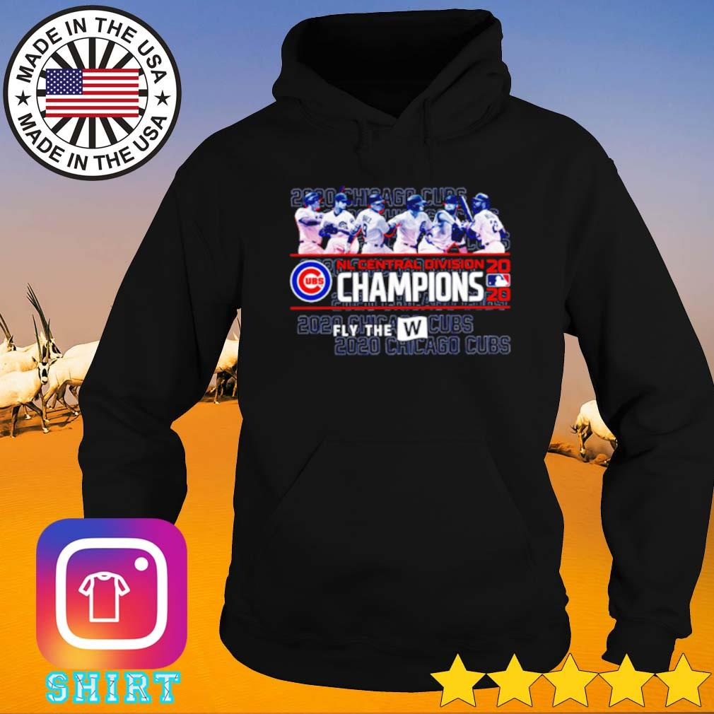 2020 Chicago Cubs NL Central division Champions s Hoodie black