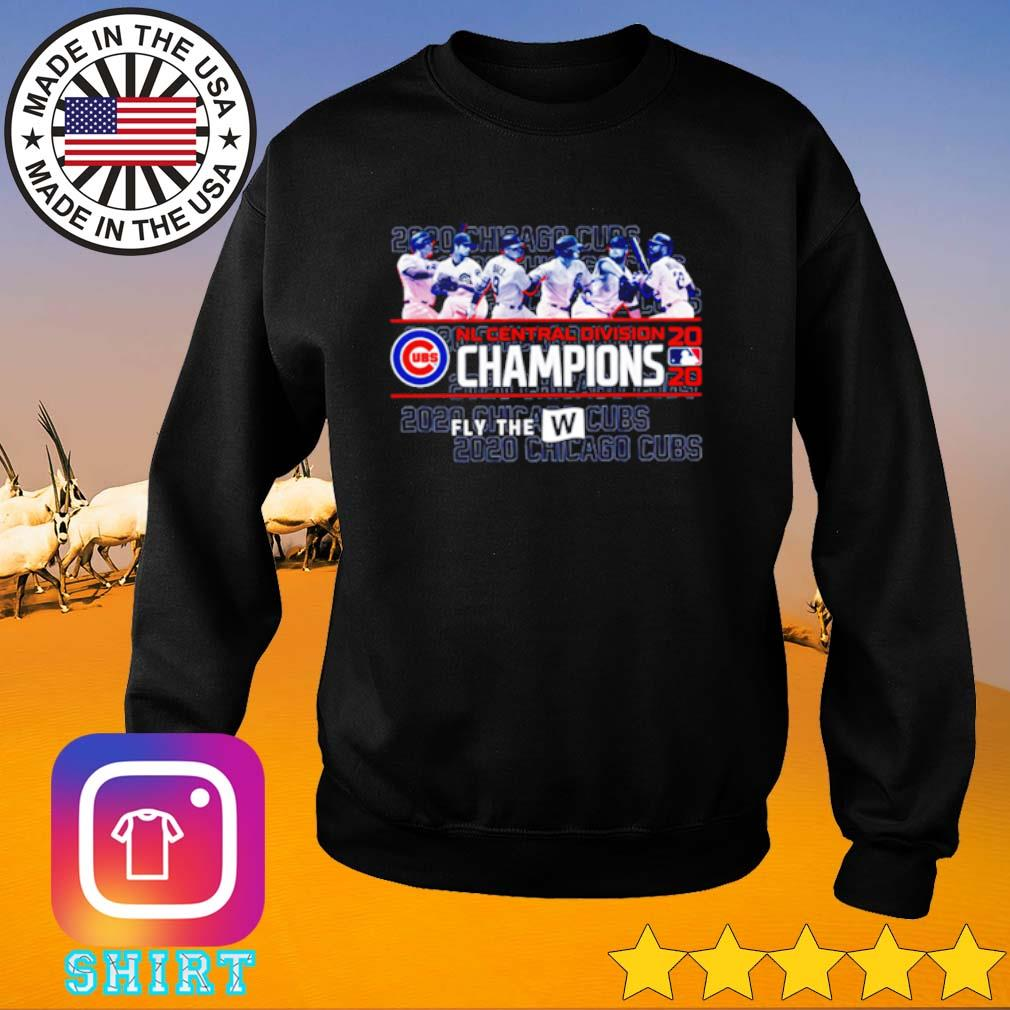 2020 Chicago Cubs NL Central division Champions s Sweater black