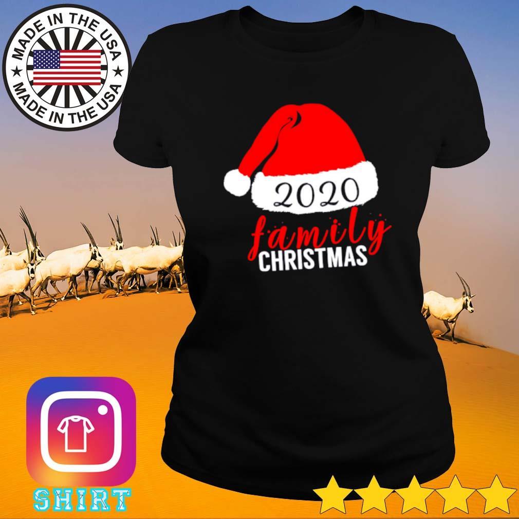 2020 Family Christmas sweater Ladies tee