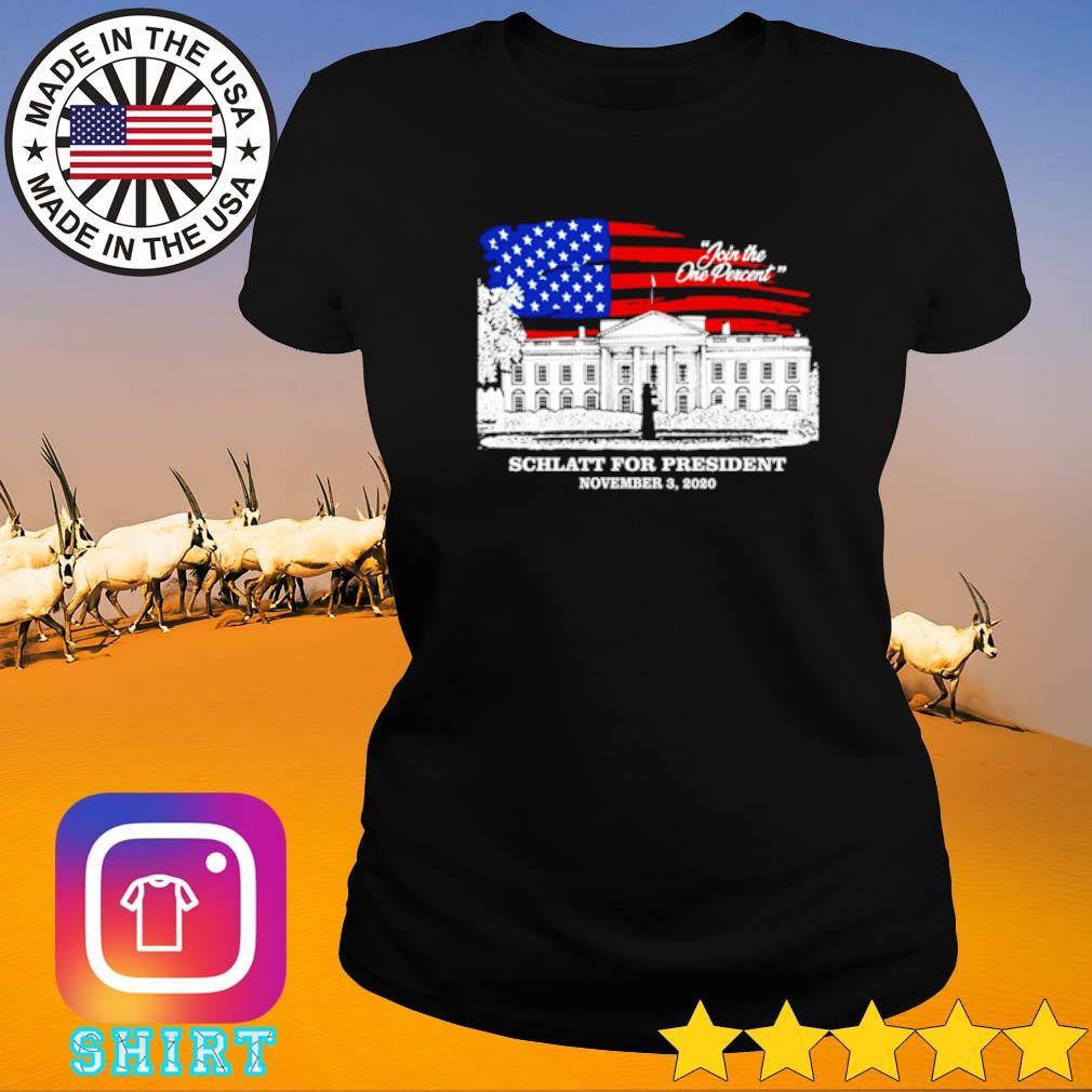 American Schlatt for president November 3 2020 s Ladies tee