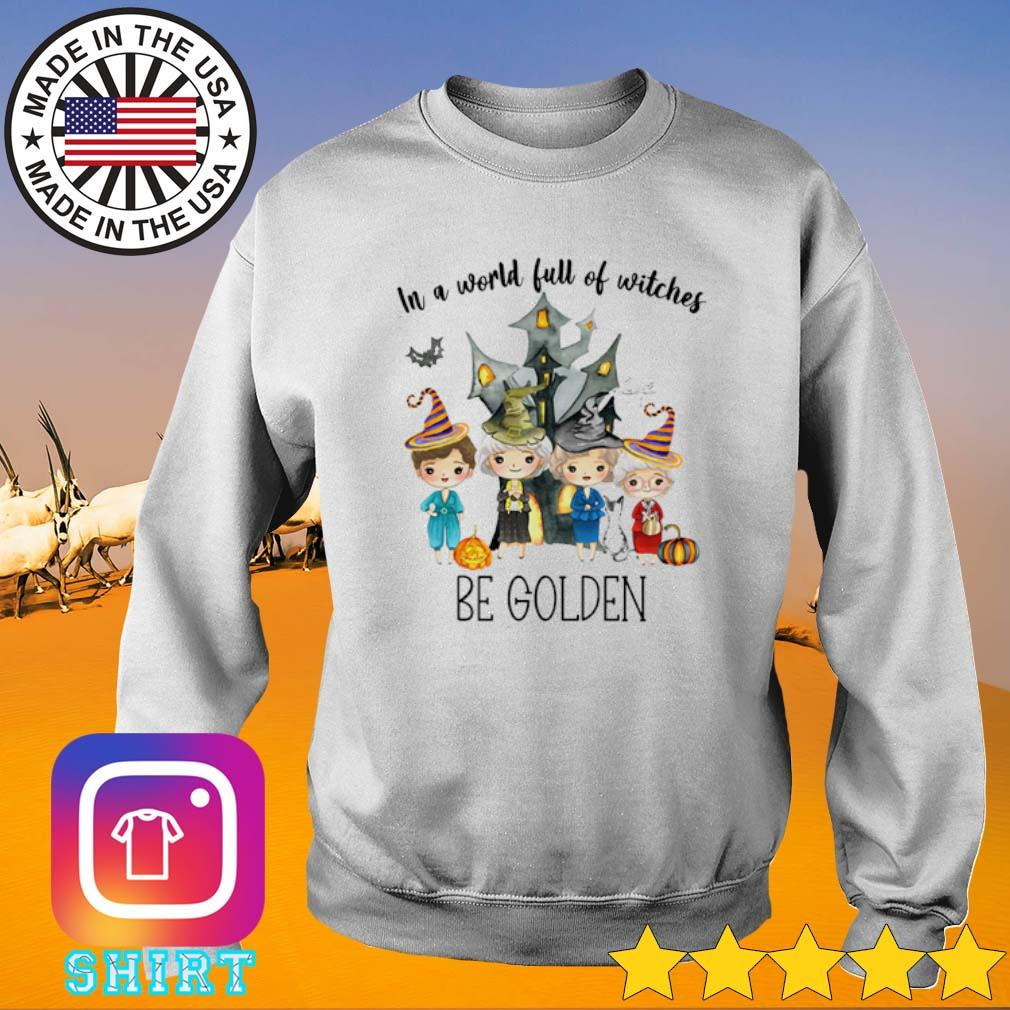 Castle Halloween in a world full of witches be Golden s Sweater White